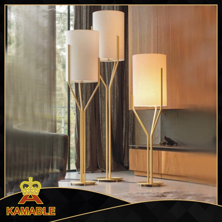 Hot sales luxury Quality stainless steel lamp body top quality modern floor lamp manufacturer