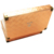 High-Grade Orange Color PU Leather Empty Leather Perfume Box