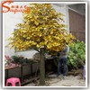 Outdoor wedding decorations wedding decorative plastic tree fake ginkgo tree for wedding wishing tree