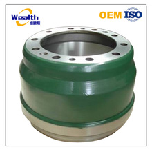 Customized ht250 sand casting brake drums used for heavy truck