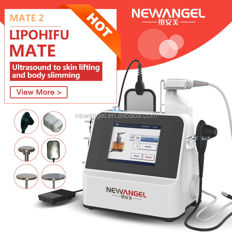 Professional 600 shots fat reduction technology lipohifu beauty equipment