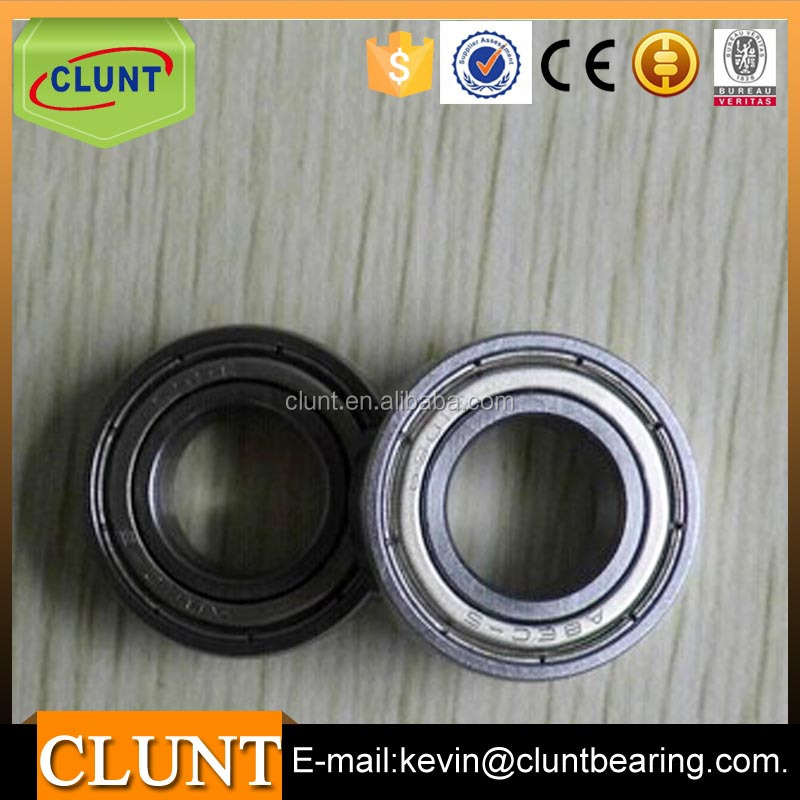 High precision deep groove ball bearing 61801 size 12*21*5mm motor bearing