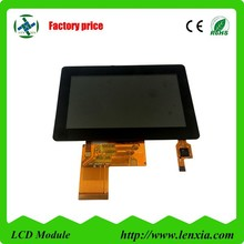 40 PIN tft lcd 4.3 inch module 480*rgb*272 with 300 cd/m2 luminance