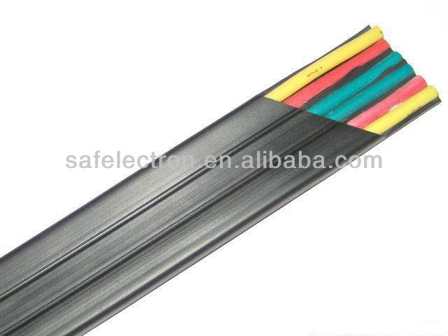 Flexible Flat Cable : Crane submersible pump and elevator flexible flat cable