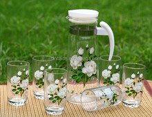 New popular high quality glass grace tea ware