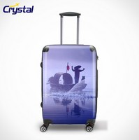 100% PC ABS Luggage For Sale/Urban Vip Trolley Case Eminent Luggage
