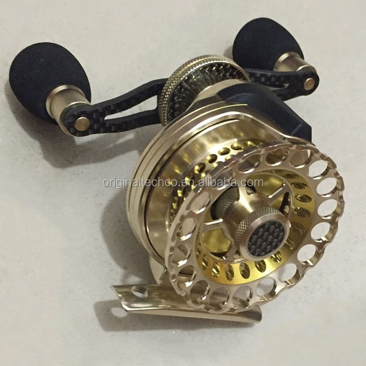 Quality manufacture anti-corrosion fly fishing reel