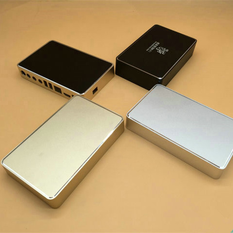 ZK-114-2/160*100-35MM Aluminum wifi Router Shell/ Player Shell/Controller box metal enclosure silver gold black