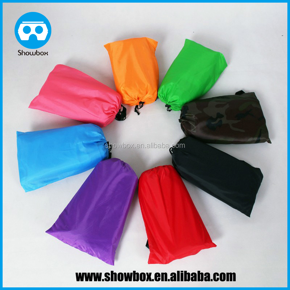 inflatable lounger, Portable Bags Lounger Nylon Fabric Suitable For Camping Beach Lazy Sofa