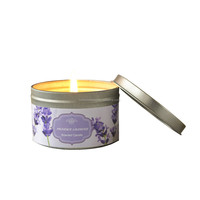 Glass Scented Candle Natural Soy Candle