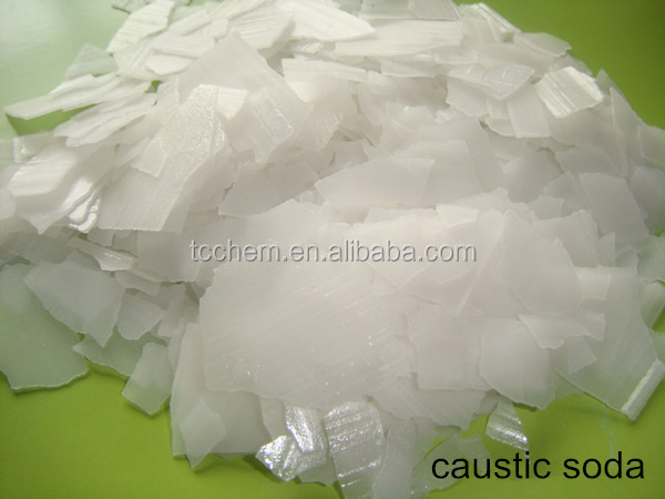 caustic soda flakes/pearls/solid 99% factory