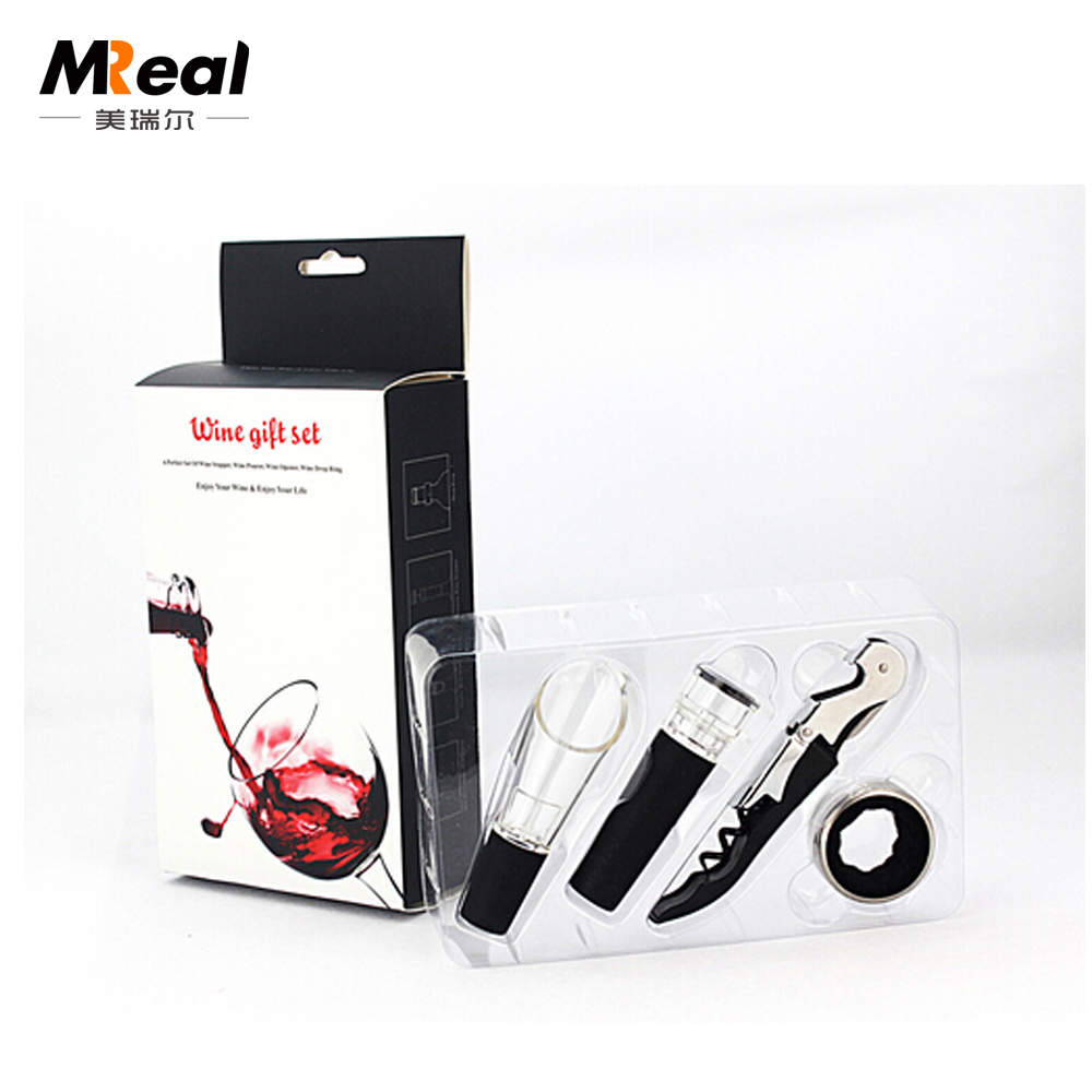 Newest model multifunction stocked eco-friendly elegant wine tool set