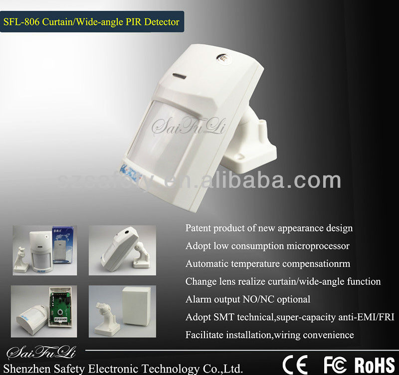 High Quality Wall Mount PIR motion Sensor SFL-806