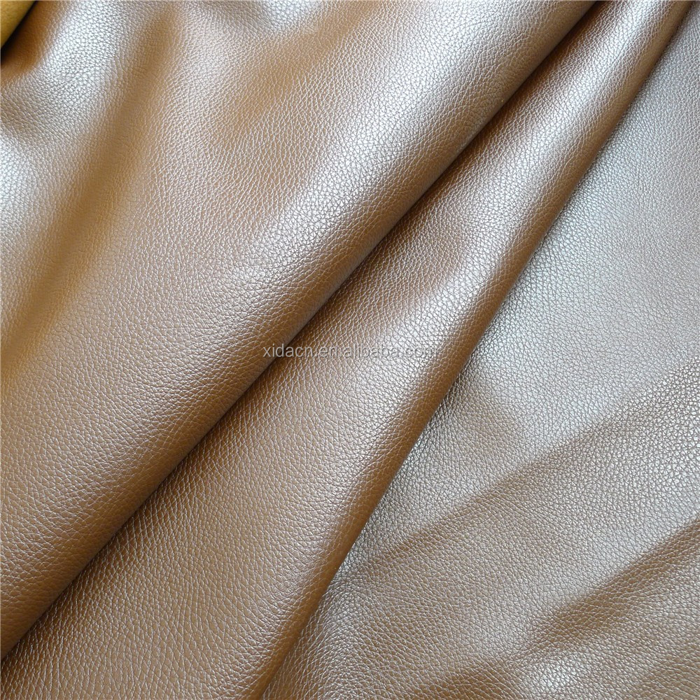 Garment leather for jacket pu synthetic leather Factory directly pu garment leather