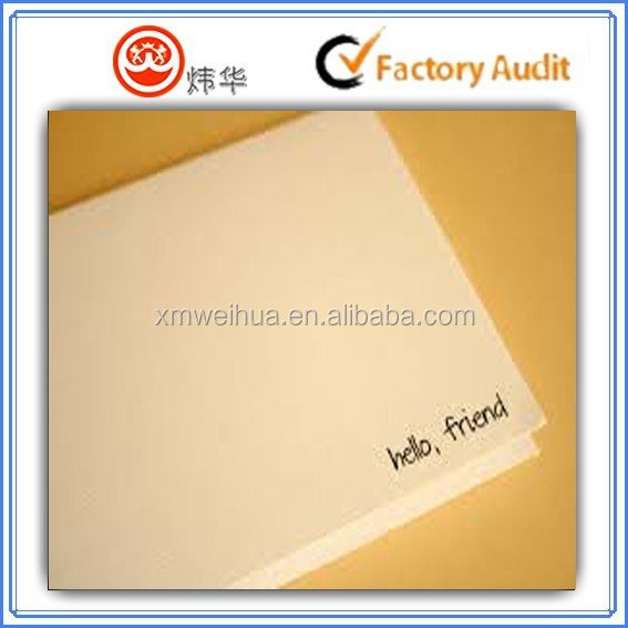 2015 customized blank greeting card paper