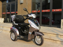 China unfoldable 800w 60v three wheel electric mobility scooter