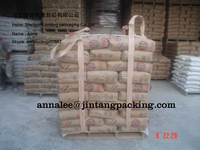 1000 kg FIBC Jumbo Container Ton big bag baffle bulk bag