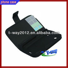 Hot selling good quality wallet leather case for blackberry 9900
