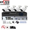 ENSTER Professional Full HD Outdoor 1080P IP Camera Security CCTV System With 4ch POE NVR CCTV Kit