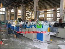Zhangjiagang TURUI sells PVC wood floor deco profile extrusion line wpc floor production line