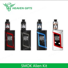 New Product 3ml/ 2ml TFV8 Baby 220W Smoktech Alien Kit japan electronic cigarette