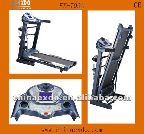 Fitness Club Motorized high speed treadmill Esteira Athletic Way treadmill repair treadmill motor 3hp EX-709A