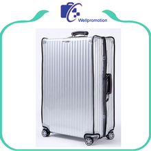 Custom waterproof transparent clear pvc luggage protective cover