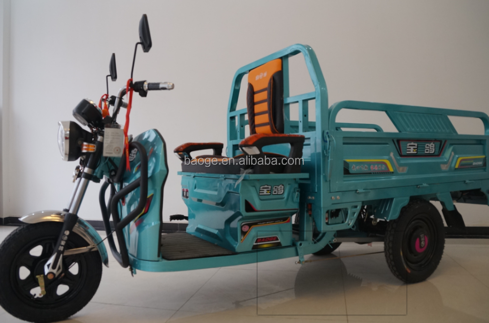 Electric folding auto hot rickshaw with powerful motor in China