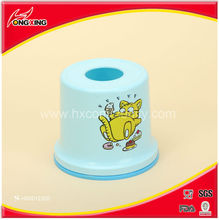 Round shaped plastic toilet roll paper holder