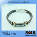 Global selling European and American style energy silicon bracelet
