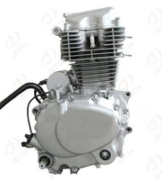 New design 4-stroke cg200 motorcycle engine