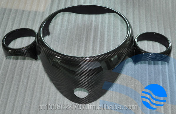 MINI COOPER - CARBON FIBER SPEEDO / SPEEDOMETER COVER R56