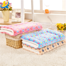 New design popular pet cushion fashion soft and durable plush pet bed blanket