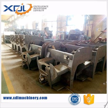 Custom OEM Structural Steel Parts Fabrication