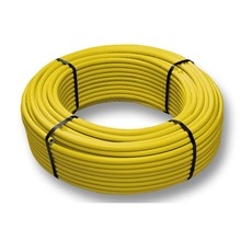 Pe Al Pe Composite Pipe For Gas Pipe Orange