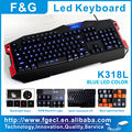 Professional gaming keyboard macros with 15 programmable keys