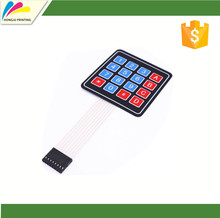 New 4*4 Matrix Array/Matrix Keyboard 16 Key custom Membrane Switch Keypad