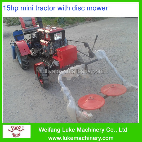2016 worhwhile 10 hp 4 wheel tractor easy operated