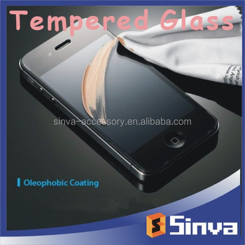 For samsung galaxy s6 tempered glass screen protector with good price