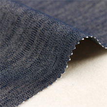 16X200D+40D/98X44 205Gsm 147Cm Navy Popular Pant Elastic Satin 100% Polyester Stretch Woven Necktie Fabric