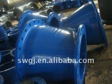 Epoxy Ductile Iron Flanged Taper Reducer