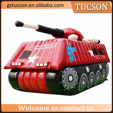 outdoor display cool inflatable tank inflatable military product for sale