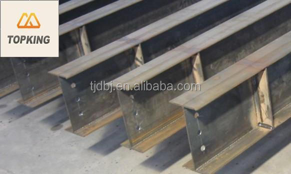 China supplier hot rolled beam steel roofing support
