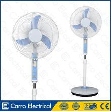 energy saving large 12v battery powered fan with USB charger