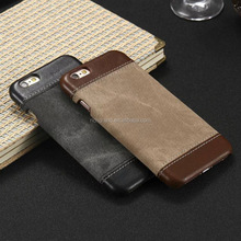Casual Denim Cloth+PU Leather Case Cell Phone Case Cover For samsung s7+edge,s6+edge for iphone5 6s 6p 7 7p