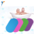 Fast drying baby silicone non slip bath mat with suction cup