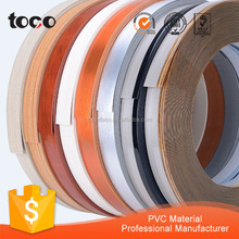 3D ABS PVC PMMA acrylic bicolor double color edge banding factory for mdf article board
