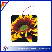 2015 new design paper cardboard air freshener in car or room