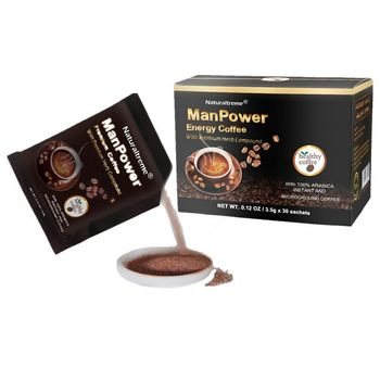 Hot Products Glossy Ganoderma Male Performance Coffee