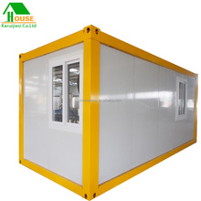 prefab flat pack house mini mobile portable container house